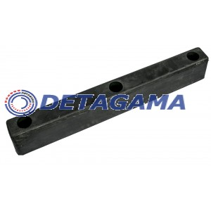 Trailer's protective rubber (rectangle slim) 70mmx450mm