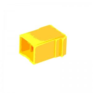 Connector 1318 yellow