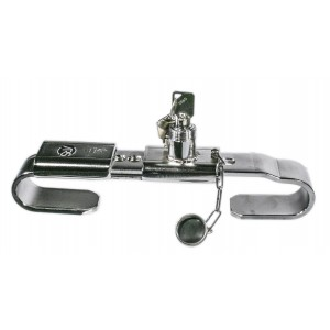 Cargo trailer door lock